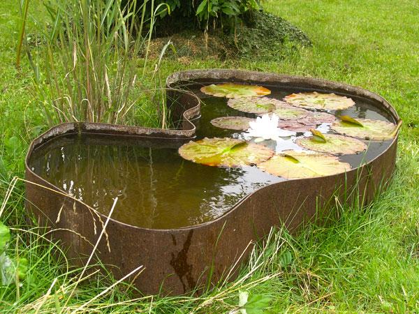 Cortenstahl Garten cortenstahl bauschlosserei metallgestaltung kunstschmiede heiko