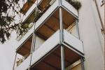 Balkon aus Stahl in Kiel
