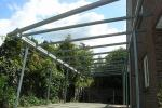 Filigranes Stahlcarport